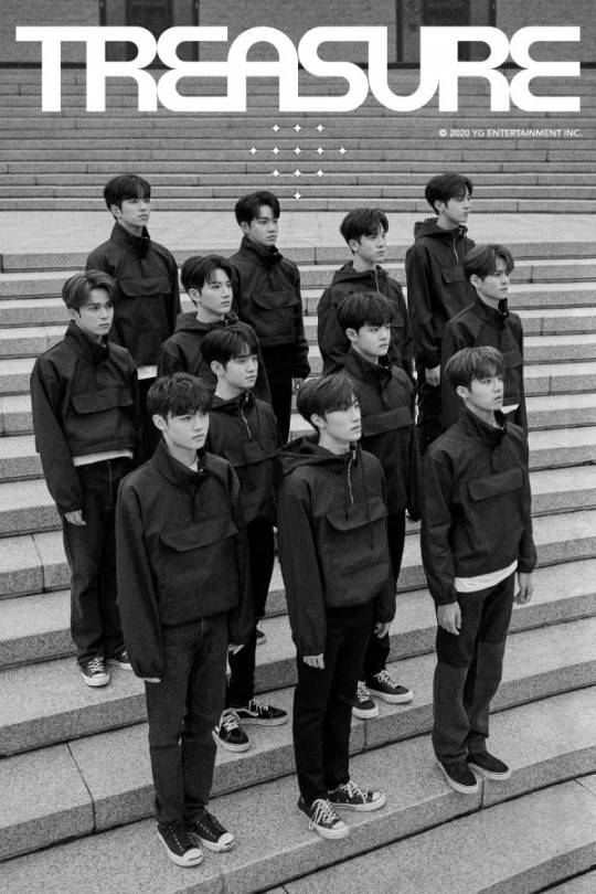 the new 12 member YG boy group TREASURE Official debut - Top kpop